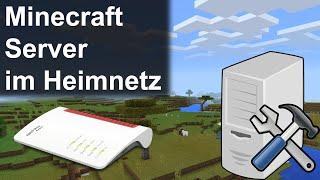 Minecraft Server im Heiṁnetz mit IPv4, IPv6, DynDNS und Portweiterleitung