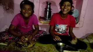 HOME MADE ROTI SABJI CHALLENGE !  uvf...kids food challenge { किड्स फ़ूड चैलेंज }