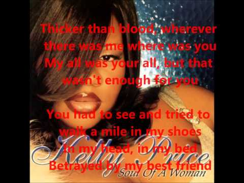 Kelly Price Friend Of Mine+Lyrics