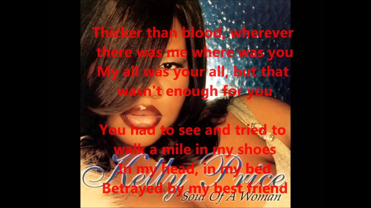 Kelly Price Friend Of Mine Lyrics