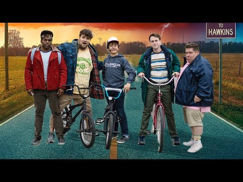 Stranger Things Meets E.T. In Real Life Parody!