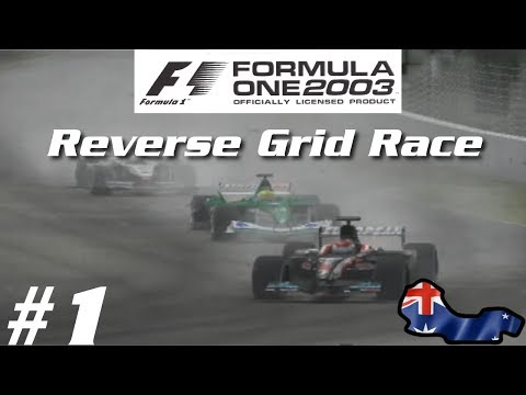 Formula One 2003: Reverse Grid Race - Part 1 - Australia