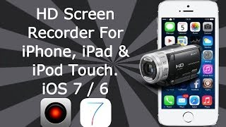 hd screen recorder for ios 7 8 9 9 0 2 all iphone ipad ipod touch display recorder