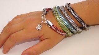 DIY: Zipper Bracelet   Back-to-School Fashion Ideas