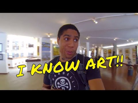 I KNOW ART!! | AFRICAN HERITAGE AND CULTURE ART MUSEUM | TANZANIA VLOG #9
