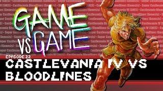 Super Castlevania IV vs Castlevania Bloodlines - SNES, Genesis - Game vs Game