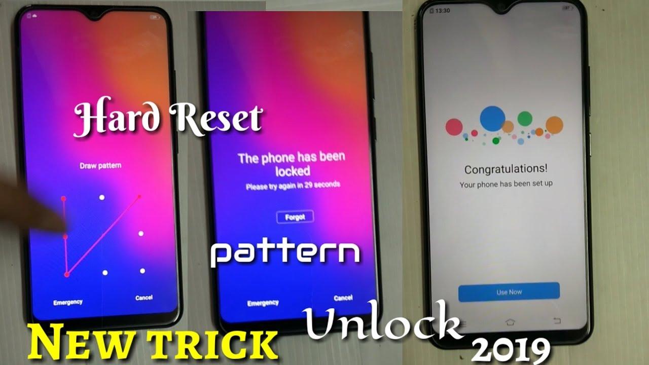 VIVO Y17, Y91,Y93 Hard Reset Pattern and Password Unlock 2019