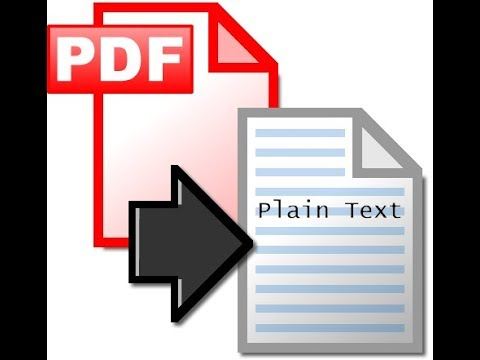 Convert PDF to Text: Python PDFminer example using Python