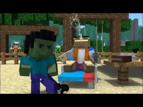 """""""Minecraft Style"""" - A Parody of PSY"""