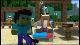 """Minecraft Style"" - A Parody of PSY's Gangnam Style 1 hour (With animation)"