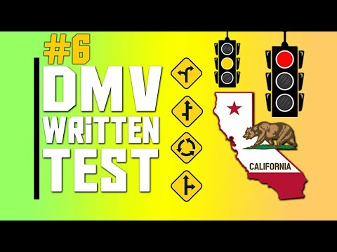 dmv written test california 2020 - Real DMV Questions & Answers - permit test california 2020