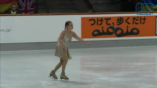 Irina MALININA. Oberstdorf 2018. Silver Ladies IV - Free Skating. 12 place