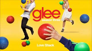 Love Shack - Glee [HD Full Studio]