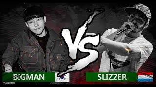 BIGMAN 🇰🇷 VS SLIZZER 🇱🇺 | World Beatbox Classic | 1/4 Final