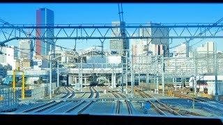 [4K60p前面展望] 線路切替後 京浜東北線 快速北行 蒲田~東京 Keihintohoku Line