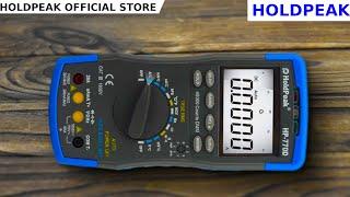 holdpeak HP-770D. ПОЛНЫЙ ОБЗОР HOLDPEAK. Best multimeter Holdpeak hp-770D