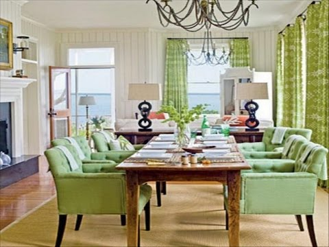 Dining Room Decorating Ideas Green