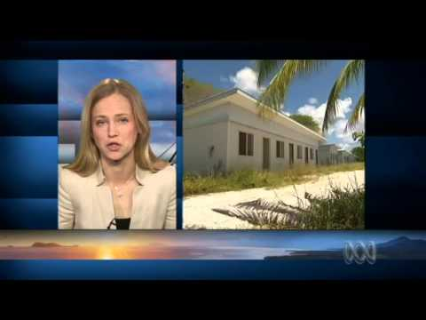 Soldiers leave to rebuild refugee processing centre on Nauru