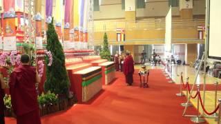 Day3 The Ushnisha Vijaya Puja for Celebrate Birthday to Two His Holiness  on 22 July 2012