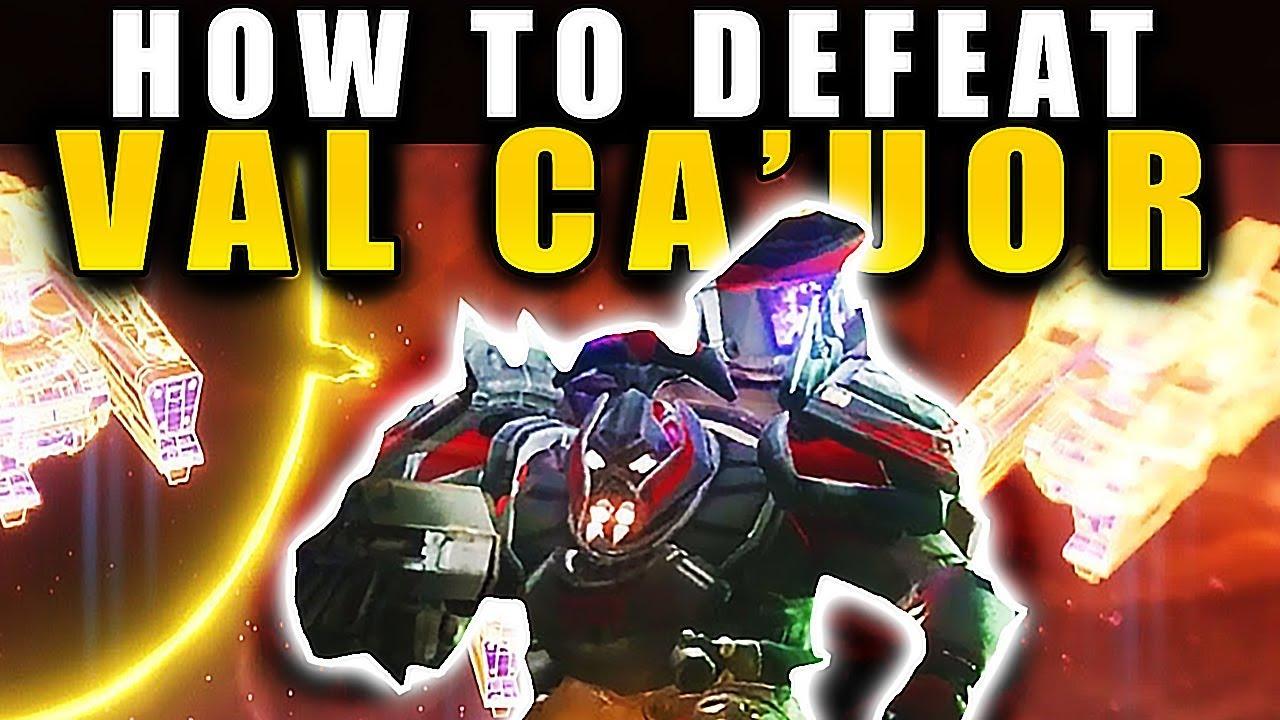Destiny 2 - HOW TO DEFEAT LAST BOSS VAL CA'UR (Spire of Stars Raid) !!