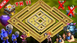 UNDEFEATED Best Th11 War Base 2018 Anti 1 Star/Anti 2 Star With 5 Replay Anti Bowler Anti Everything