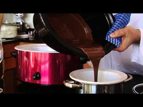 After Making Chocolate Fondue In A Crock-Pot, Can You Transfer Chocolate To Ano... : Fondue Recipes