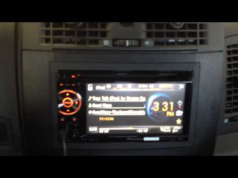 2005 Cadillac CTS Pioneer AVH-P1400DVD Radio Swap