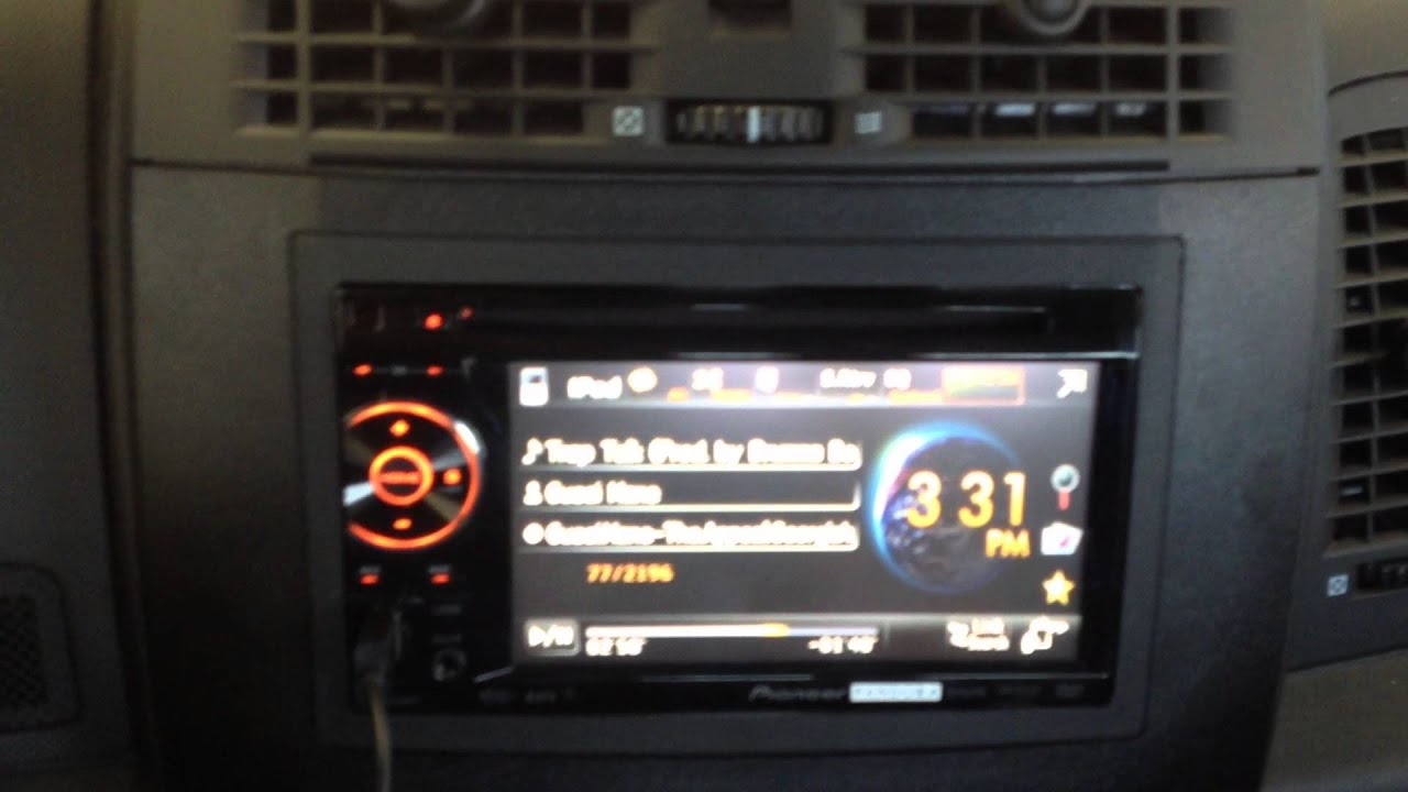 maxresdefault 2005 cadillac cts pioneer avh p1400dvd radio swap youtube  at n-0.co