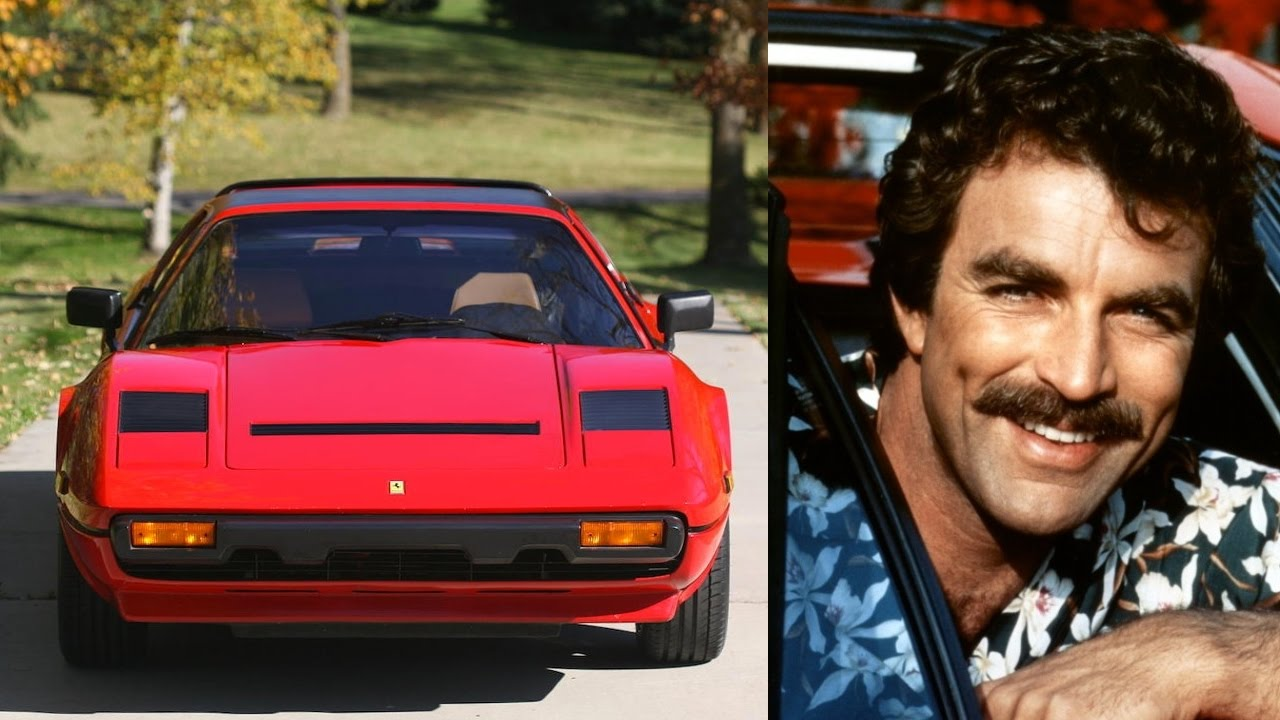 Greatest Tv Cars Part 2 Magnum P I Ferrari 308 Gts Youtube