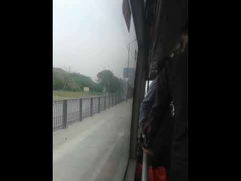 Best view from metro bus islamabad,one side view of all famous buildings.