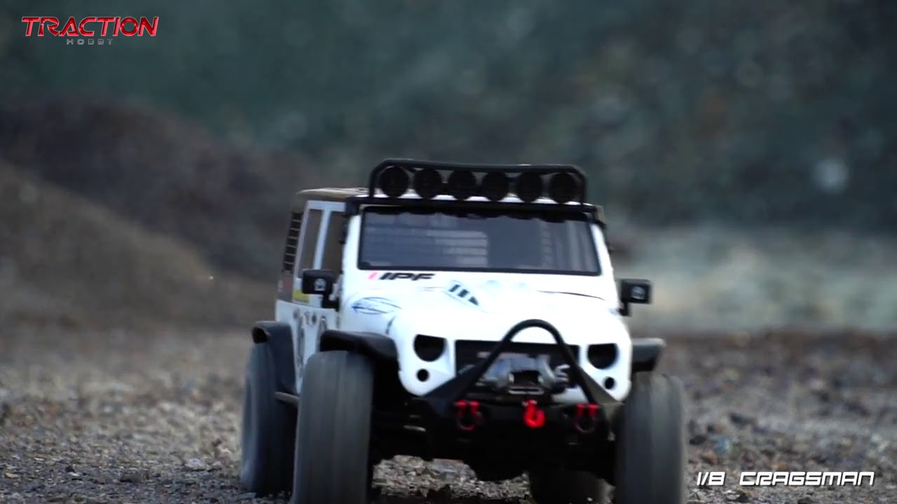 Traction Hobby 1 8th Cragsman Crawler Youtube