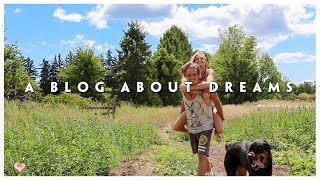 About Our Life ♥ Dreams, Dogs, & Vision Boards