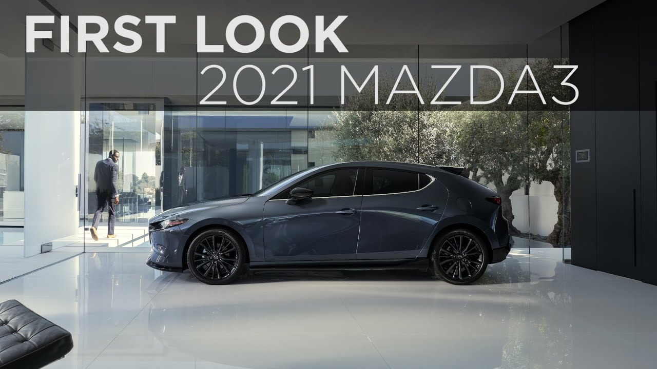 2021 Mazda3 Turbo First Look Driving Ca Youtube