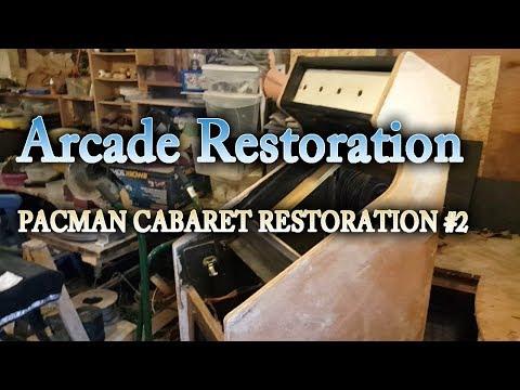 Arcade DIY #31 - Pac Man Cabaret Cab restoration #2 -Wood repairs