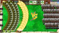 Plants vs Zombies Hack - 999 Zombie vs Gatling Pea vs Gargantuar