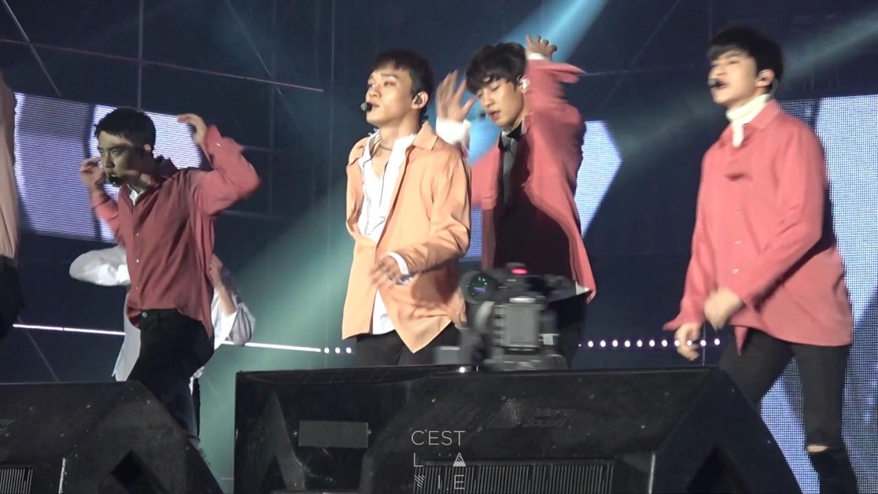 161022 Lotte Family Concert EXO 엑소 Monster CHEN 첸 FOCUS