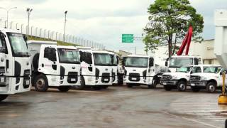Prefeitura entrega nova frota para Infraestrutura