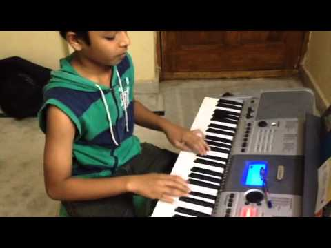 hum tere bina hindi songs keybord