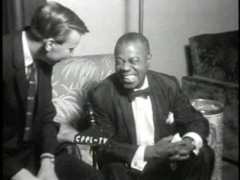 Louis Satchmo Armstrong Talks About Playing in Europe and for the Royal Family, 1956