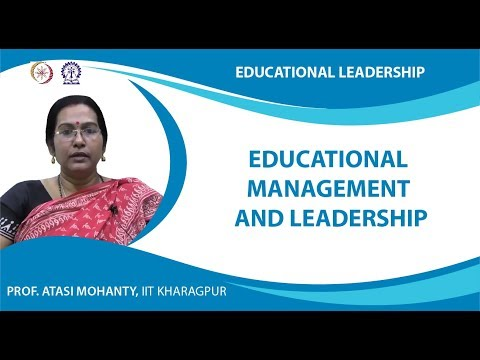 Educational Management and Leadership