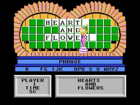 Wheel of Fortune Vanna white (NES) - Vizzed.com Play