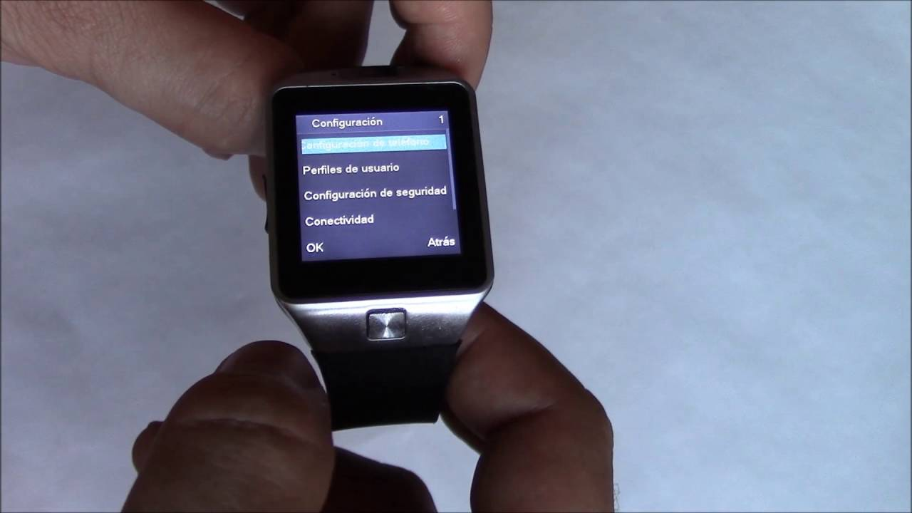 How To Change The Language On The DZ09 Smartwatch Phone