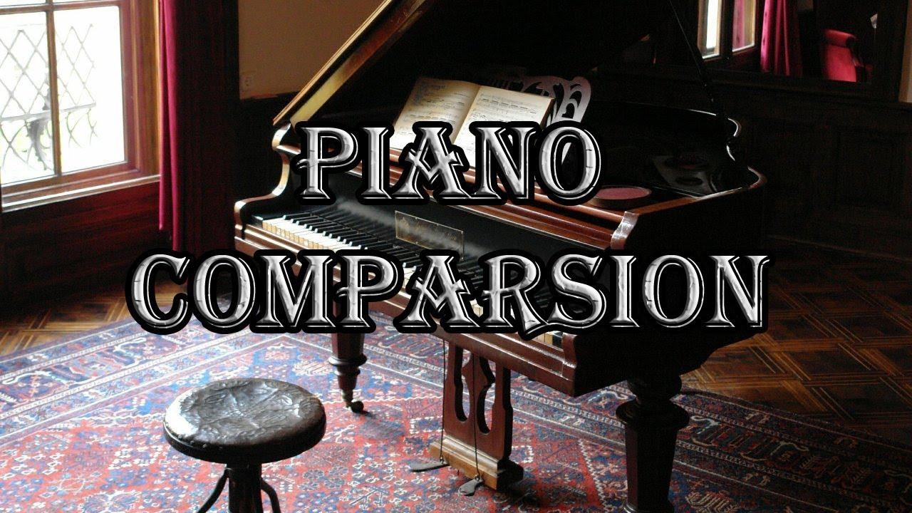 blind test ultimate digital piano comparsion roland vs yamaha vs kawai vs casio youtube. Black Bedroom Furniture Sets. Home Design Ideas