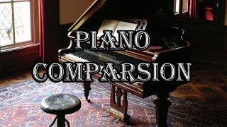 Blind Test (Ultimate Digital Piano Comparsion ): Roland vs. Yamaha vs. Kawai vs. Casio