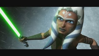 Star Wars: The Clone Wars - Ahsoka Tano escapes from prison [1080p]