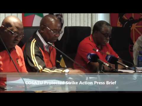 COSATU calls on all workers to withdraw...
