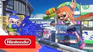Squid Research Lab report - Inklings in Super Smash Bros. Ultimate