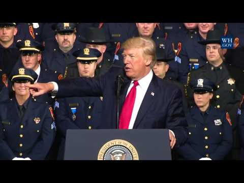 President Trump Gives Remarks on MS-13 to Federal, State, and Local Law Enforcement