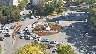 Astakada Владивосток ДТП 2 октября 2018 Кольцо Инструментальный завод