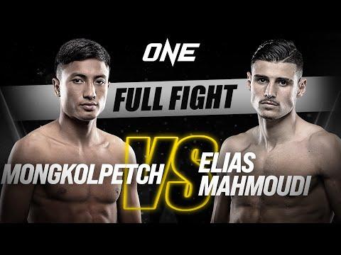 Mongkolpetch vs. Elias Mahmoudi | ONE Championship Full Fight